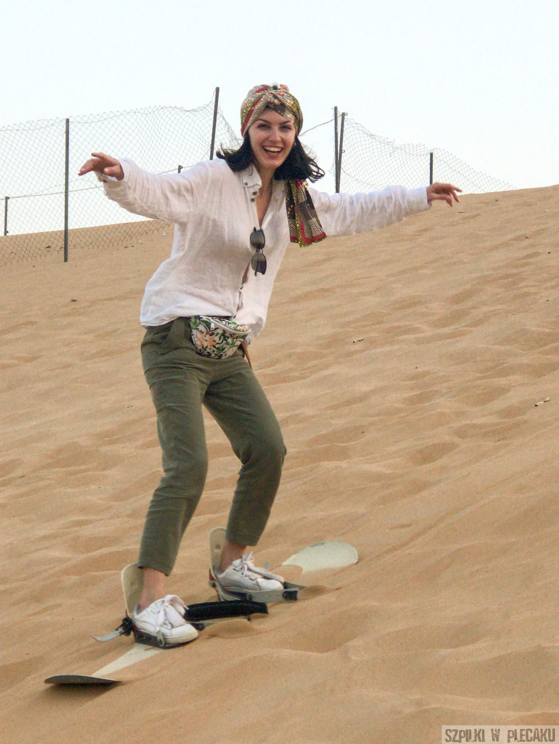 obóz - Dubaj inaczej z przygodą i adrenaliną - Szpilki w plecaku