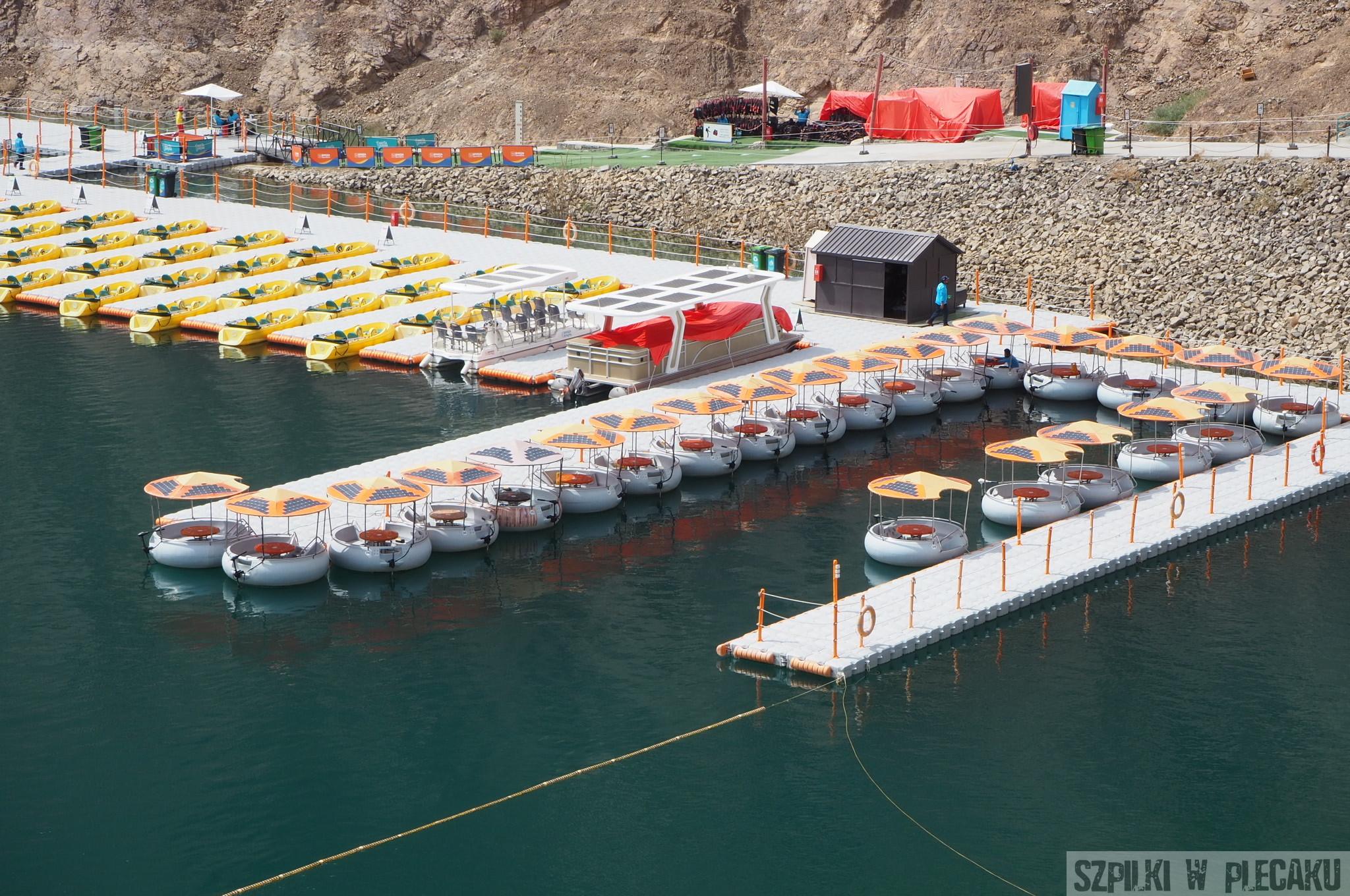 Jezioro hatta - Dubaj inaczej z przygodą i adrenaliną - Szpilki w plecaku