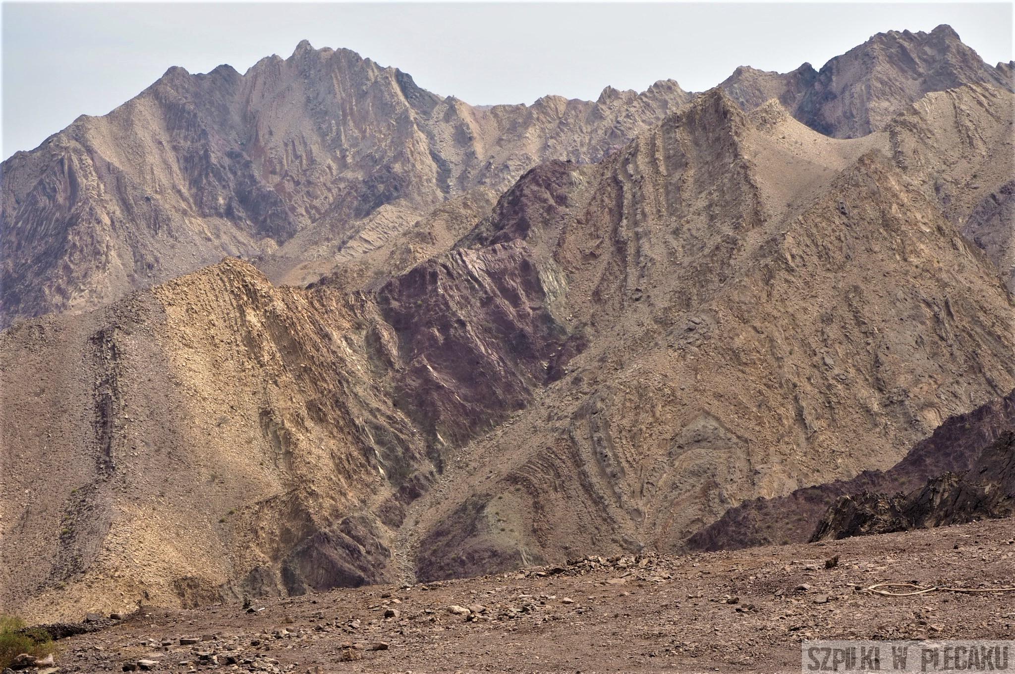 góry Hatta - Dubaj inaczej z przygodą i adrenaliną - Szpilki w plecaku