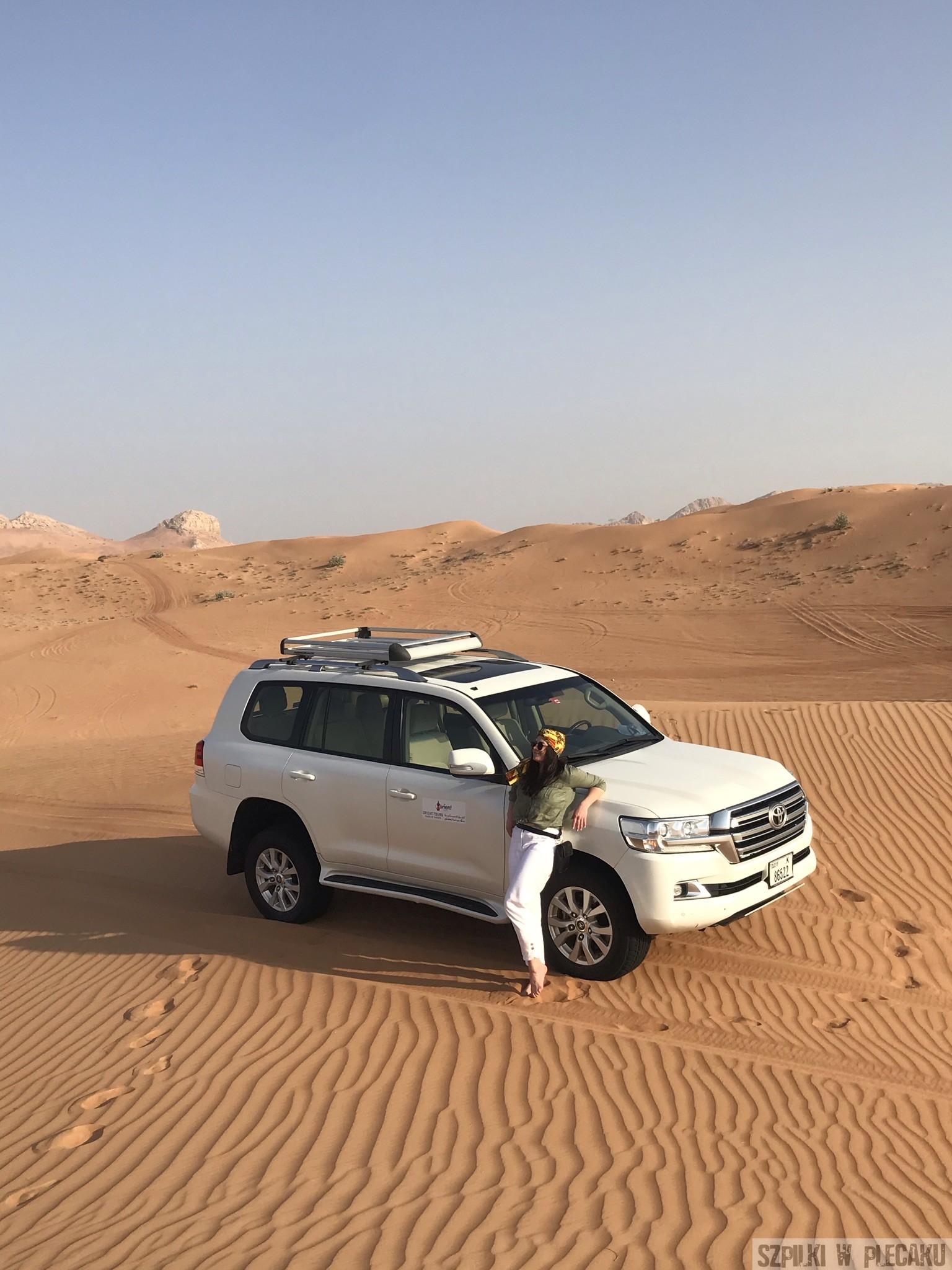 jeep safari - Dubaj inaczej z przygodą i adrenaliną - Szpilki w plecaku