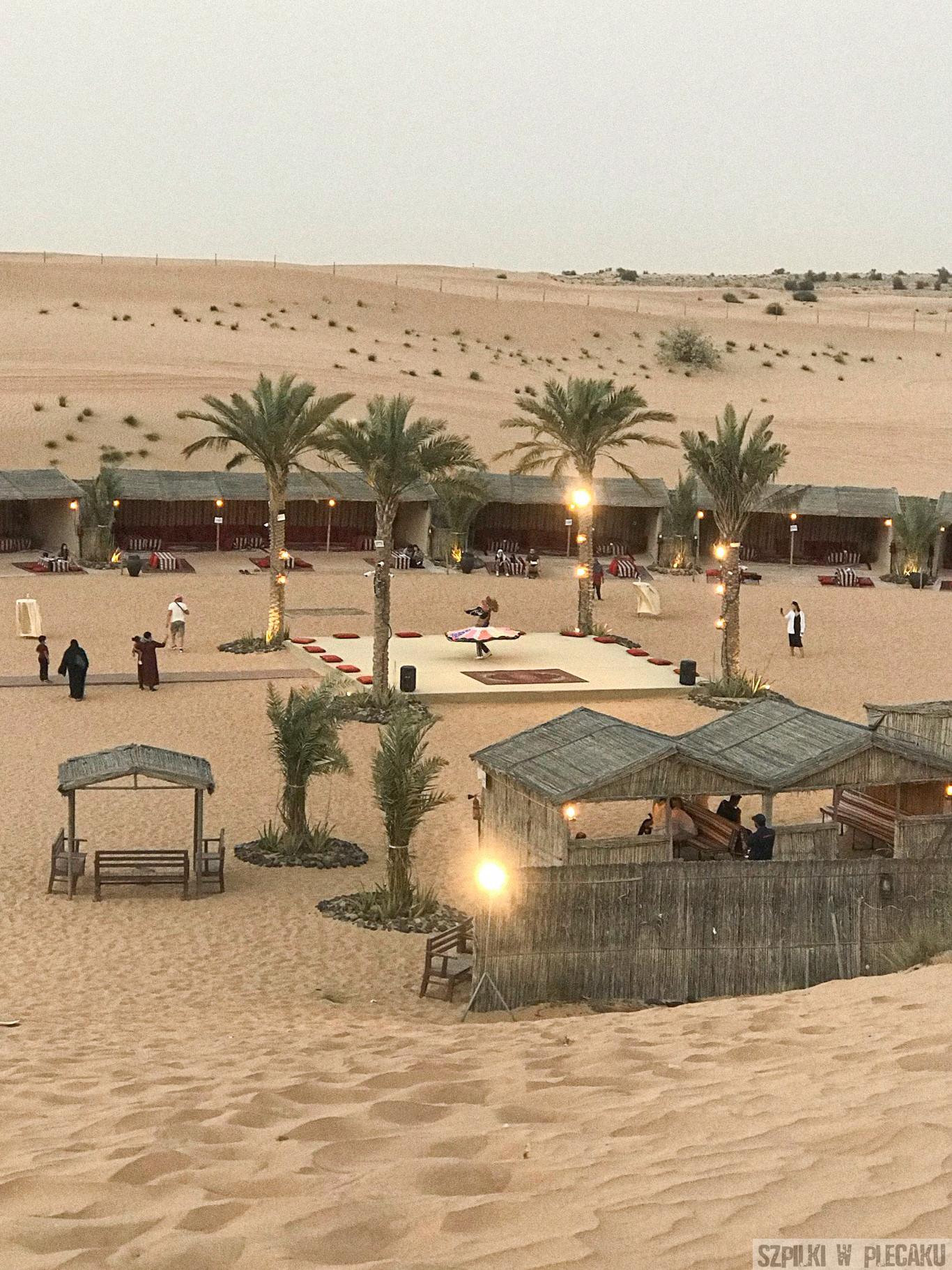 obóz na pustyni Dubaj inaczej z przygodą i adrenaliną - Szpilki w plecaku