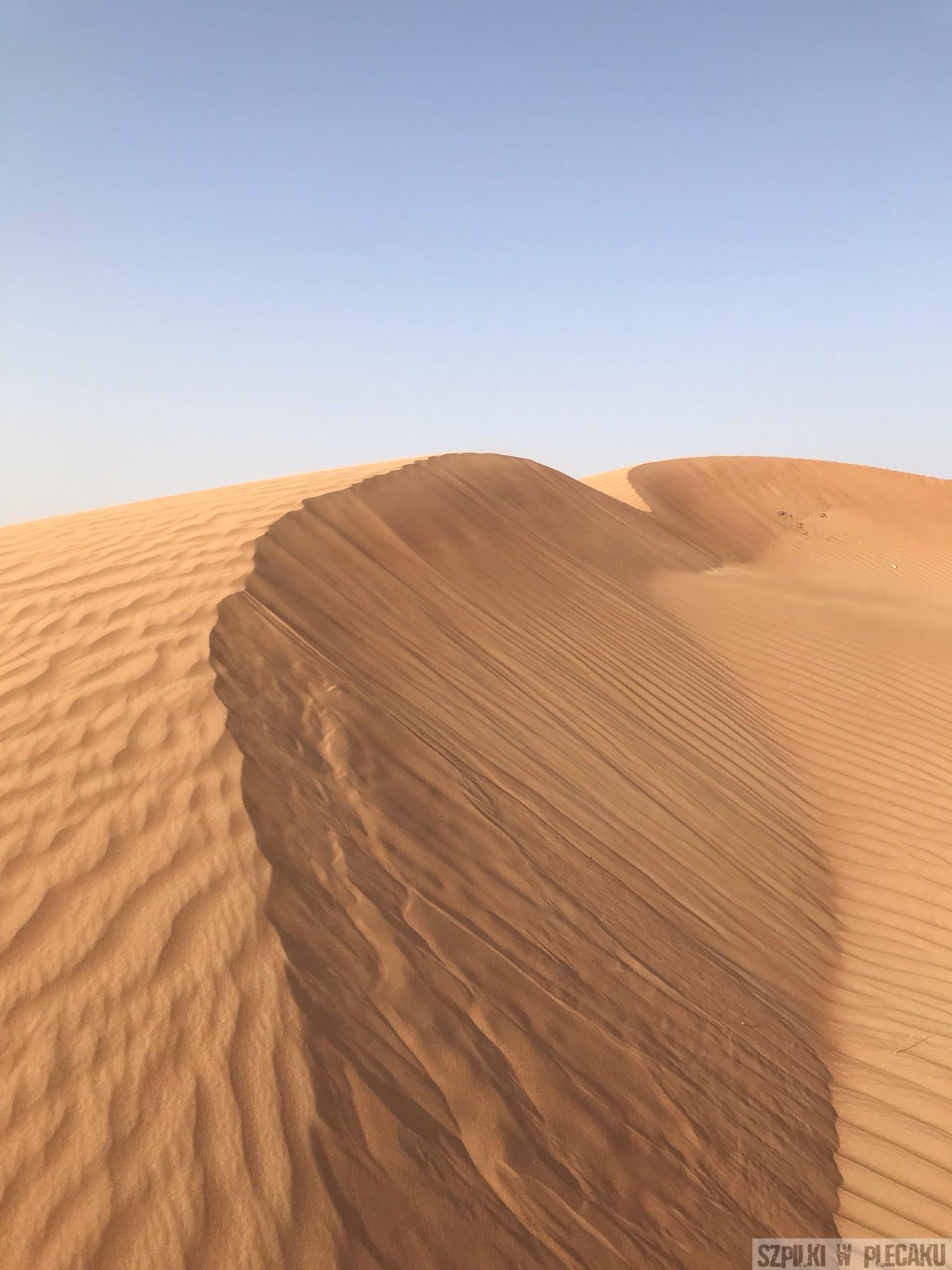 pustynia Dubaj inaczej z przygodą i adrenaliną - Szpilki w plecaku