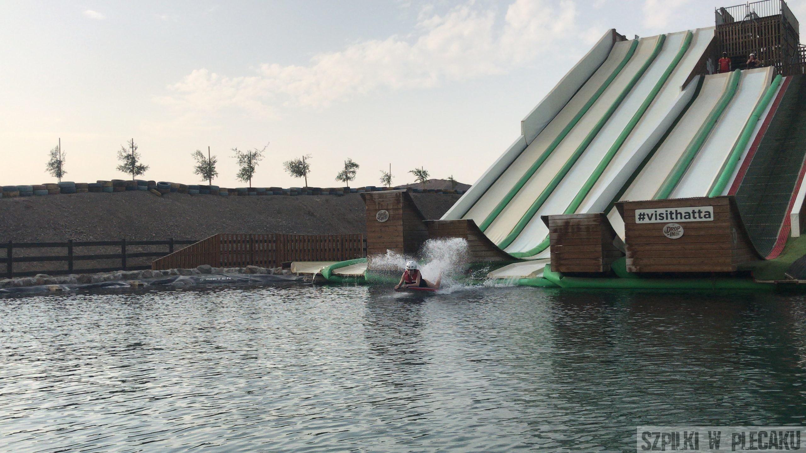 zjeżdżalnie wodne HATTA - Dubaj inaczej z przygodą i adrenaliną - Szpilki w plecaku