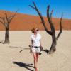 Deadvlei - Namibia - Szpilki w pleaku