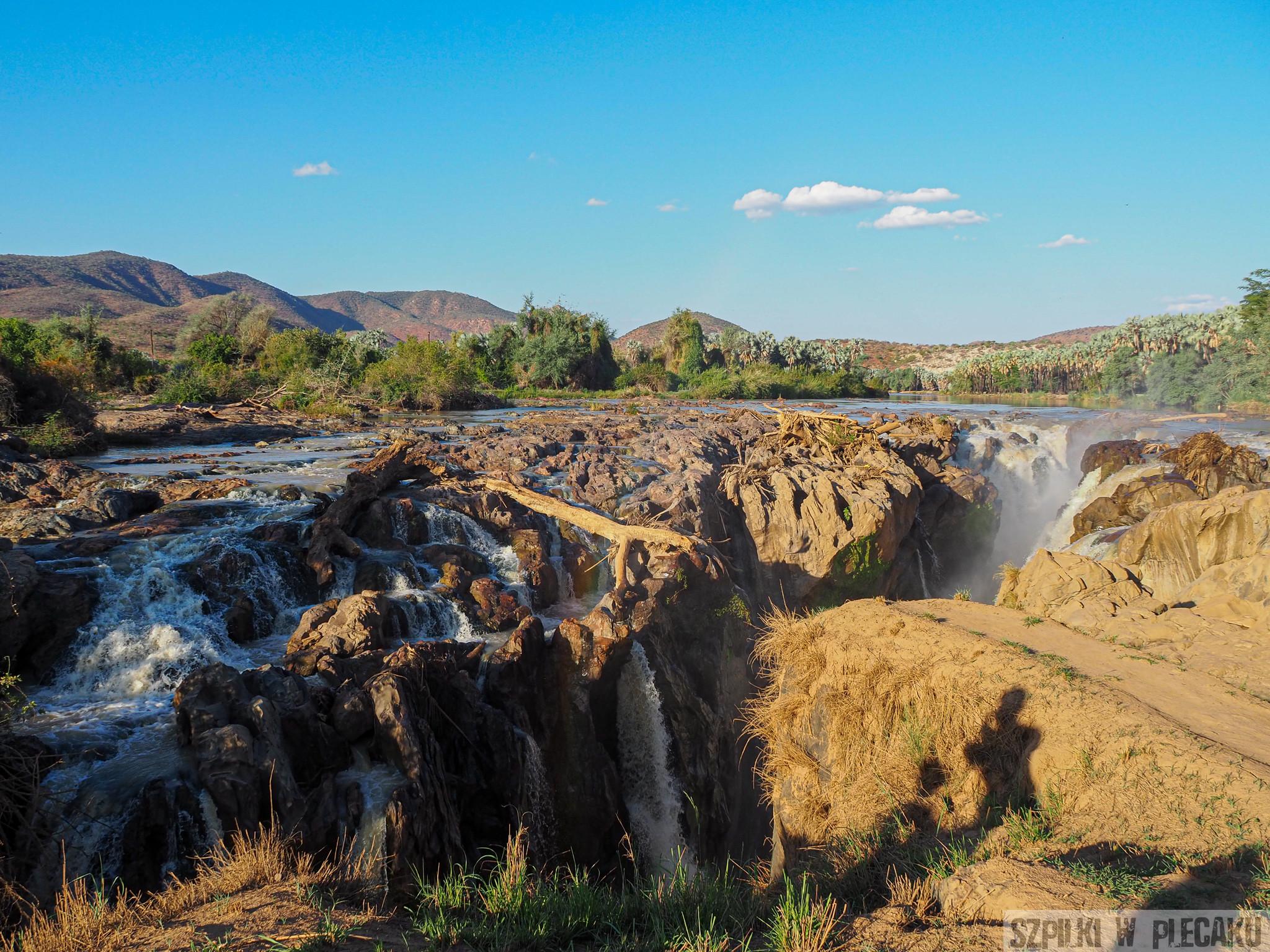 Epupa Falls- Namibia - Szpilki w plecaku