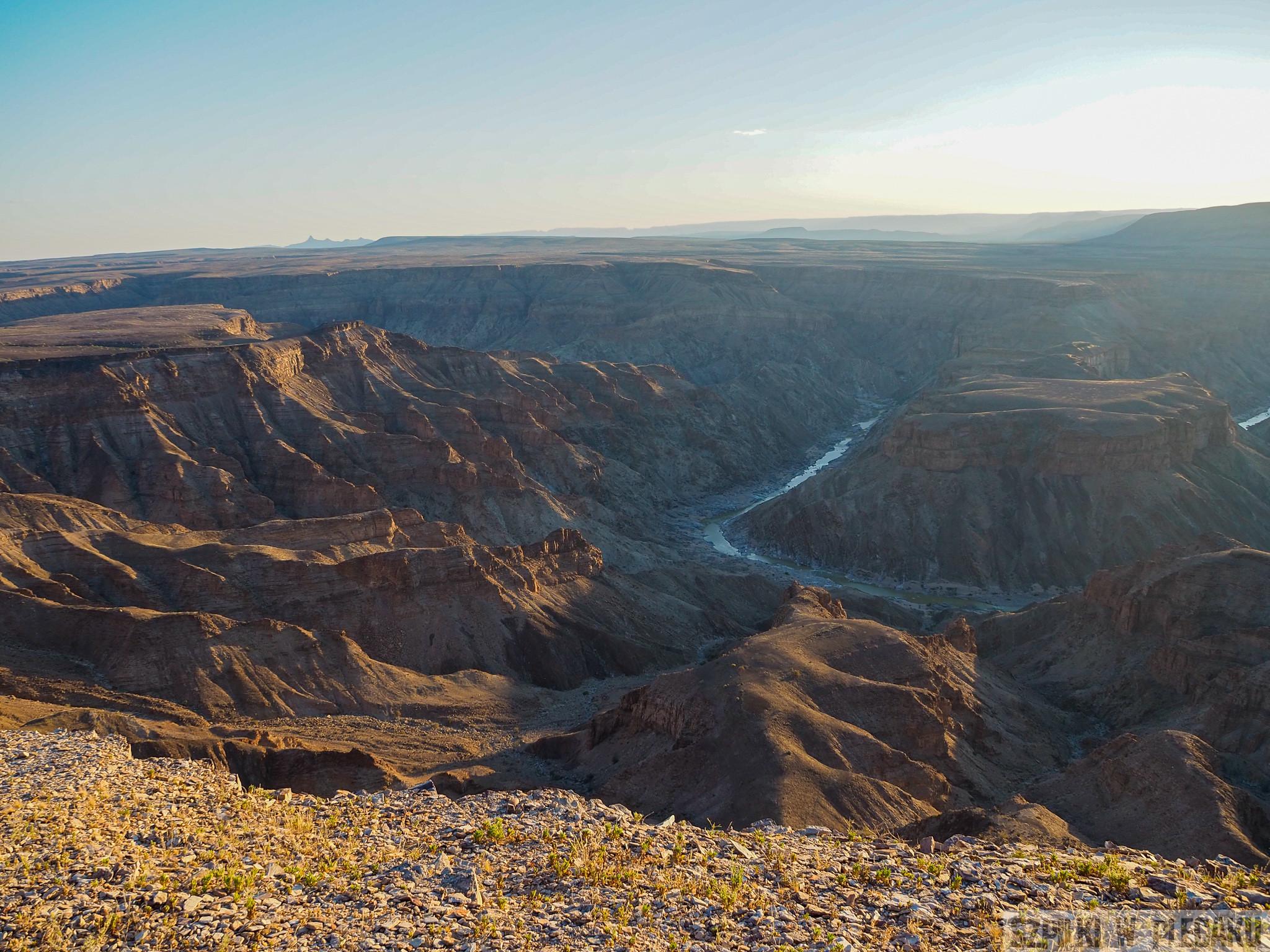 Fish River Canyon - Szpilki w plecaku