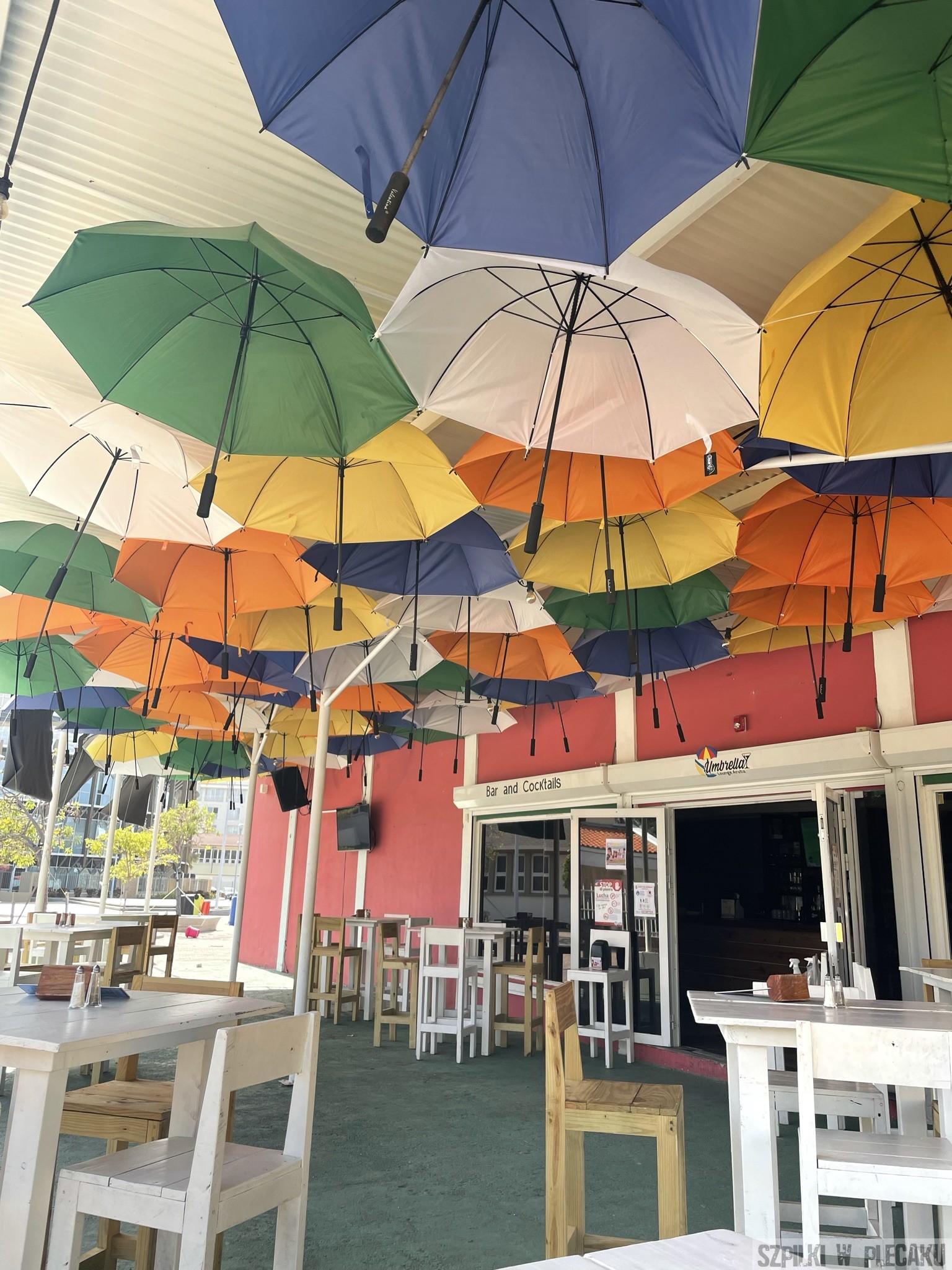 Orajnestad - Aruba - Szpilki w plecaku