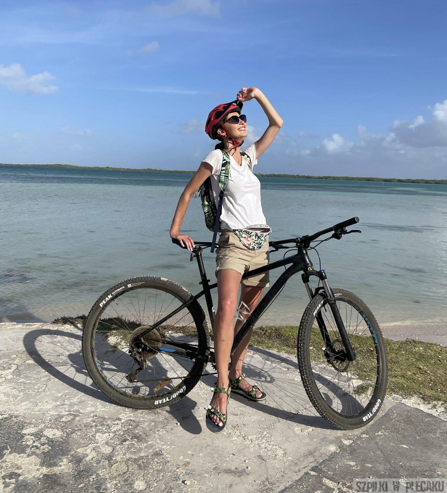 rowery - Bonaire - Szpilki w plecaku